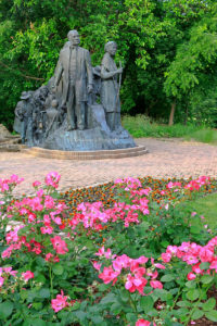 The Underground Railroad Monument, Battle Creek